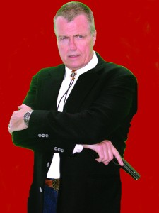 Picture of W. Hock Hochheim, red background.